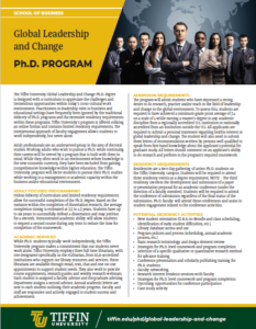 PhD academic overview